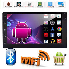 "Quad Core Android 4.4 3G WIFI 7""Double 2DIN Car Radio Stereo DVD Player GPS"