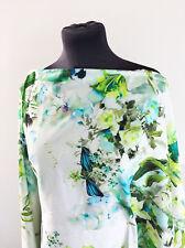 Summer 2017! Citrus W/Colour Floral Comfort Stretch Cotton Dressmaking Fabric