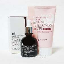 MIZON Snail Repair Intensive Ampoule 30ml + Snail Recovery GEL Cream 45ml