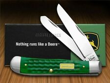 CASE XX John Deere Green Trapper Pocket Knives Knife
