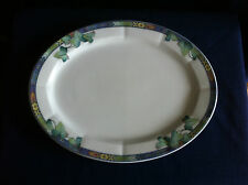 "Villeroy & Boch Pasadena 11"" oval platter (very minor scratches)"