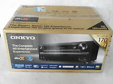 Onkyo TX-NR646 7.2 Channel Home Theater 3D Dolby Atmos Receiver SHELF DISPLAY