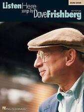 Listen Here : Songs by Dave Frishberg (1995, Paperback, Revised)