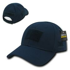 Navy Blue Tactical Operator Contractor Patch Low Crown Baseball Cap Hat