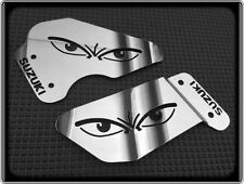 HEEL PLATES for SUZUKI GSXR750 SRAD up to 1999, GSXR 750 (POLISHED FOOT GUARDS)