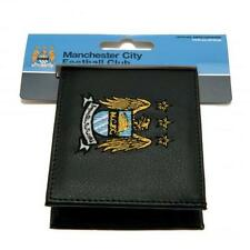Man City Embroidered Wallet - Manchester City Leather Wallet-Ideal Football Gift