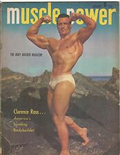 MUSCLE POWER bodybuilding fitness magazine/CLARENCE ROSS 1-50