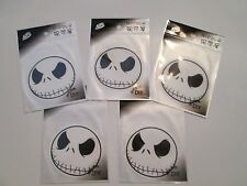 5 NIGHTMARE BEFORE CHRISTMAS JACK IRON ON TRANSFERS~DO IT YOURSELF~USA SELLER