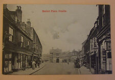 Postcard POSTED c.1905 MARKET PLACE OUNDLE NORTHAMPTONSHIRE