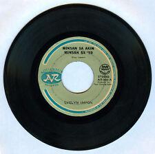 Philippines EVELYN IMPON Minsan Sa Akin Minsan Sa'yo OPM 45 rpm Record