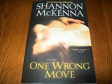 One Wrong Move by Shannon McKenna (2012, Trade Paperback) McCloud friends