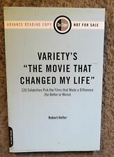 "VARIETY'S ""THE MOVIE THAT CHANGED MY LIFE""-2009 DeCAPO PRESS NEW ADVANCE REVIEW"