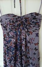 Worn Once £230 Ted Baker Size 1 (6/8) Butterfly Maxi Dress Wedding Summer Cruise