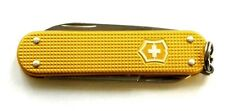 Victorinox Gold Ribbed Alox Swiss Army Knife