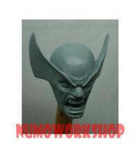 """Wolverine 1/6 Scale CUSTOM UNPAINT HEAD for 12"""" Body Figure by Numo"""
