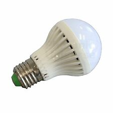 5W 12V LED High efficiency light bulb with E27 fitting for solar lighting system
