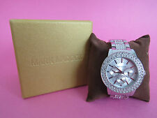 Mark Maddox Ladies Diamante encrusted watch - used in excellent Condition