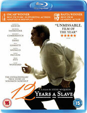 12 YEARS A SLAVE****BLU-RAY****REGION B****NEW & SEALED