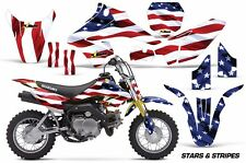 AMR Racing Suzuki DRZ 70 Graphic Kit Wrap Dirt Bike Decals MX Parts 2015 USA