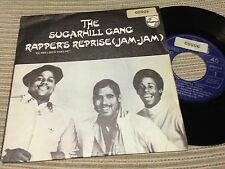 "SUGARHILL GANG SPANISH 7"" SINGLE SPAIN PHILIPS 80 - RAPPER'S REPRISE - HIP HOP"