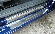 Volkswagen Golf Mk6 Silver Steel Kick Plate Car Door Sill Protectors -K151sCombi
