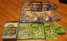 crash bandicoot action pack ps2 3 games  nitro kart tag team racing twin sanity