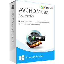 Aiseesoft AVCHD Converter WIN dt.Vollversion 1 Jahr -  Lizenz ESD Download