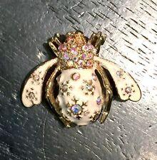 Joan Rivers Snow Bee Pin