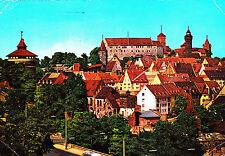Nuremberg, mirada a los muros del castillo, ak 1962 gel.