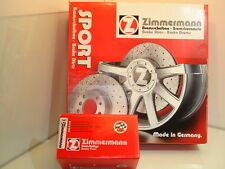 BMW E92/E93 3 SERIES PAIR OF ZIMMERMANN FRONT SPORT BRAKE DISCS (34116774875)