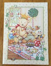 VINTAGE & Unused Mary Engelbreit Greeting Card ~ Christmas Tea For all the Toys