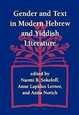 Gender and Text in Modern Hebrew & Yiddish Literature (Jewish Theological Semina