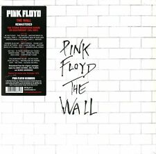 PINK FLOYD - THE WALL -REMASTERED 2 LP VINILE 180 GRAMMI NUOVO SIGILLATO
