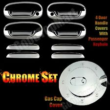 FOR 97~03 Ford F150 / 97~02 EXPEDITION Chrome 4 Door Handle Gas Cap Covers