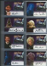 Harry Potter Sorcerer's Stone AUTO autograph Hurt as Ollivander