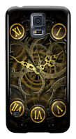 Clock Steampunk Style Cool Phone Case Cover for Samsung Galaxy #0038