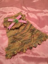 Small Dog Sweater Looks Cute 100% Home Made Clothes Clothing