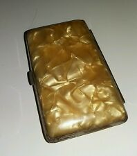 Vintage Lucite Ladies Small Cigarette or Card Case
