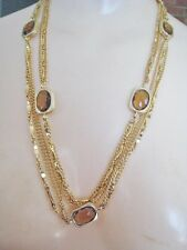 Vintage Sarah Coventry Necklace & Clip Earring Set