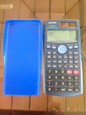 Casio FX-300ES Scientific Calculator Blue Cover Used Algebra ,Geometry,Biology