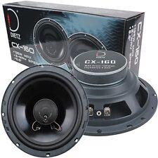 DIETZ CX160 Lautsprecher 2 Wege coax System 165mm Boxen 135 Watt