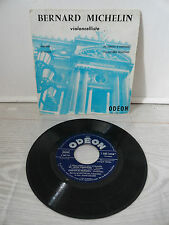 "Bernard MICHELIN violoncelliste 45T 7"" EP ODEON SOE 3256 cello / André Collard"