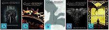 GAME OF THRONES 1-5 DIE KOMPLETTE SEASON / STAFFEL 1+2+3+4+5 DVD DEUTSCH