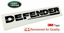 Land Rover DEFENDER REAR BLACK 3D Lettering Badge Emblem 90 110 nt sticker