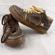 Dekline Brown Size 7 Athletic Shoes Sneakers Skateboard High Tops Skateboarding
