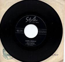 JOHN FOSTER  disco 45 g.  MADE in ITALY Amore scusami GINO MESCOLI