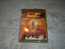 Dead or Alive Ultimate 1 (Microsoft Xbox, 2004) Disc near mint! Free shipping!