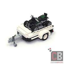 CB CUSTOM Modell ATV Quad mit Trailer  aus LEGO® Steinen z.B. für 10242 Mini