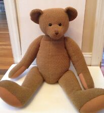 "HUGE POTTERY BARN KIDS 32"" GIANT TEDDY BEAR"