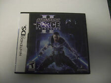 Star Wars: The Force Unleashed II DS Nintendo Video Game Complete